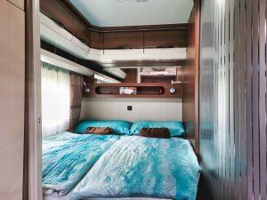 Vermiet-Wohnwagen Schlafzimmer