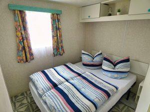 Mobilwohnheim Schlafzimmer